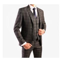 Costume pour homme à carreaux