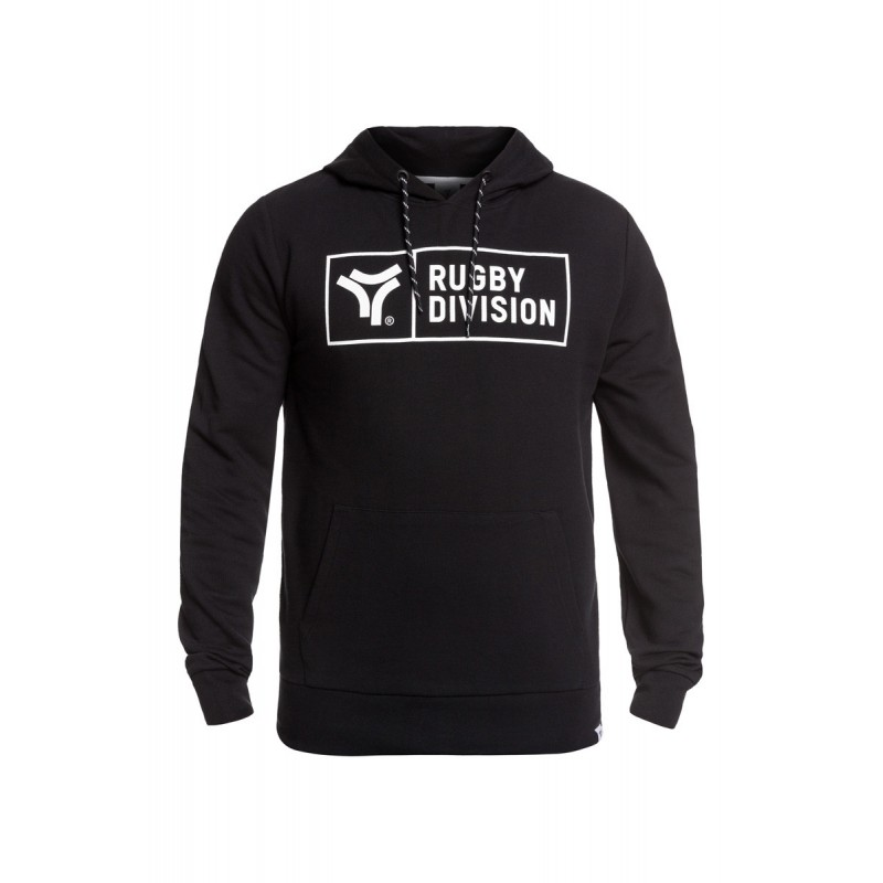 SWEAT RUGBY DIVISION BASIC NOIR