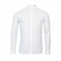 Chemise en Lin Tailored Blanc