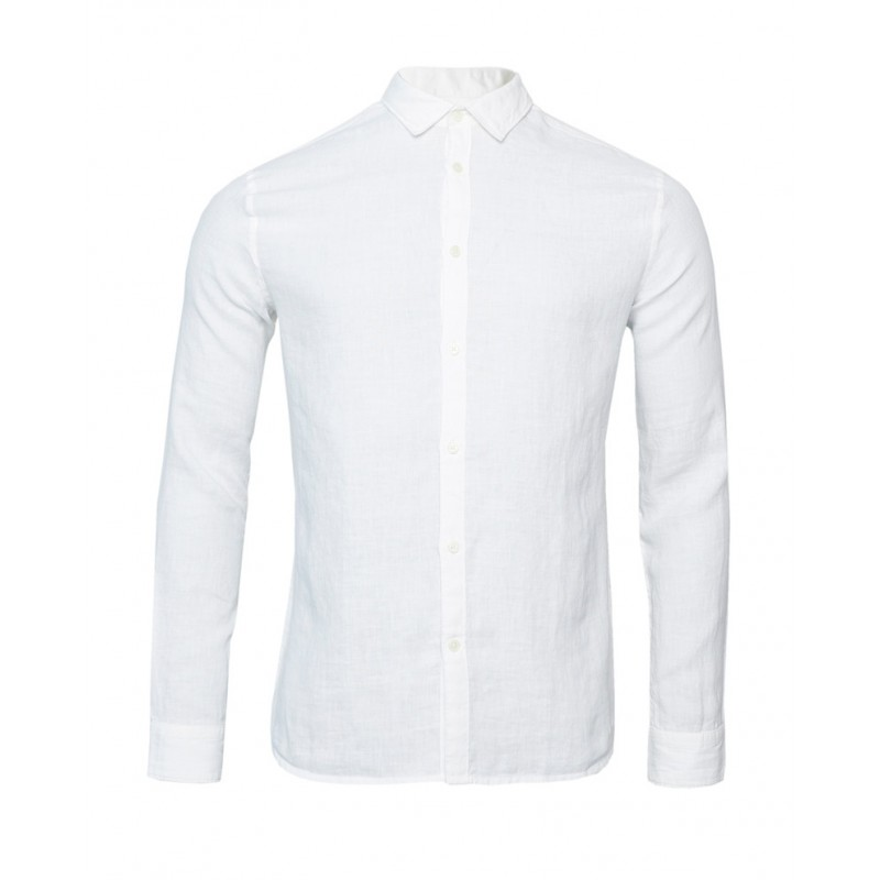 CHEMISE EN LIN TAILORED ORIGINALS BLANC