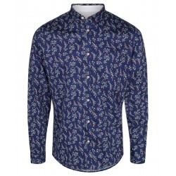 CHEMISE JENKIN TAILORED FLOWER BLUE