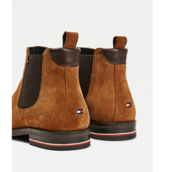 Bottine Tommy Hilfiger Jeans cognac